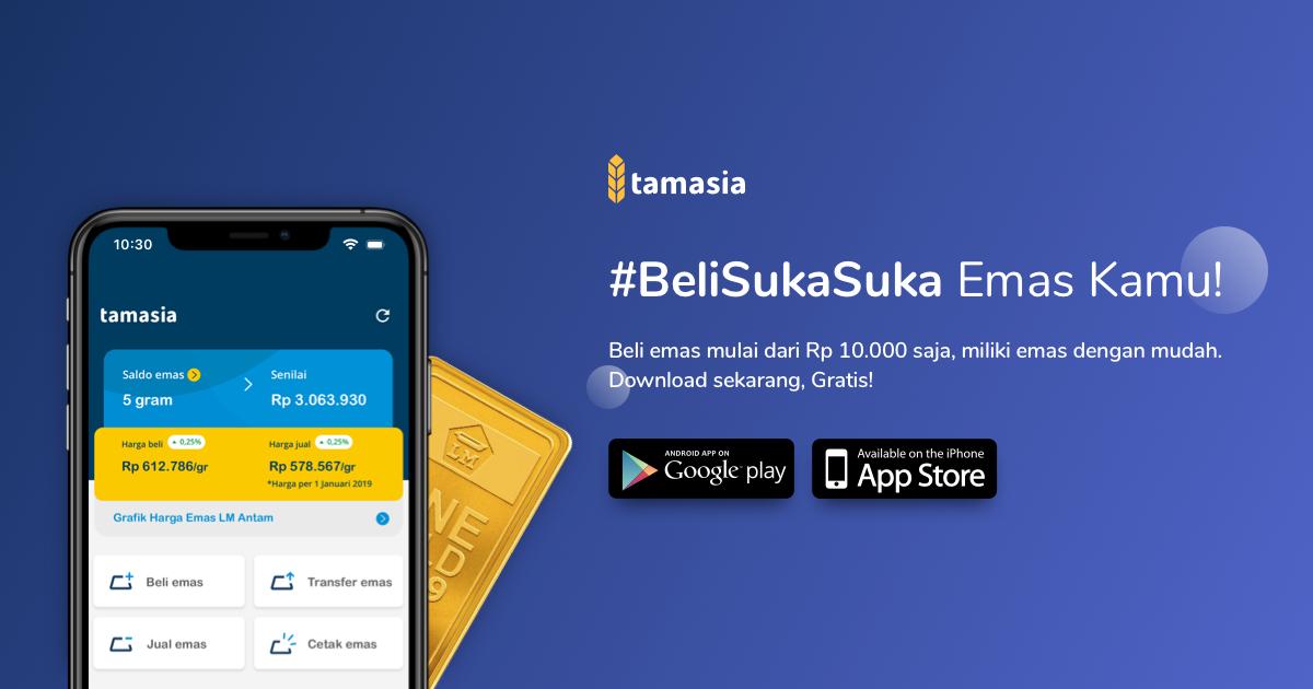 Tabungan Beli Emas Antam Online Tamasia - Tamasia.co.id